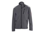 Soft Shell Jacke twenty-four Dark Grey/Black